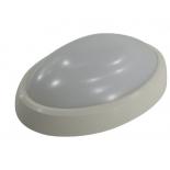светильник потолочный Smartbuy SBL-HPOVAL-12W-4K-SEN, белый