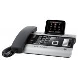 IP-телефон Gigaset DX800A, Серебристо-черный