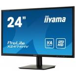 монитор Iiyama X2474HV-B1, черный