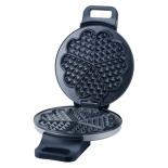 вафельница Centek CT-1449, серебристо-черная