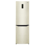 холодильник LG GA-B429SEQZ, бежевый