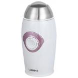 Кофемолка Lumme LU-2602, белый/розовый опал