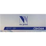 картридж для принтера NV Print CB436A черный
