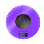 кухонные весы Maxima МS-067, фиолетовые
