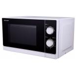 микроволновая печь Sharp R-2000RW, белая с черным