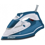 Утюг Scarlett SC-SI30K17, синий с белым