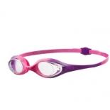 очки плавательные Arena Spider Jr, фиолетово-розовые