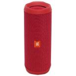 портативная акустика JBL Flip 4, красная
