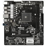 материнская плата ASRock AB350M Soc-AM4 AMD B350 mATX DDR4