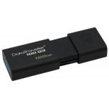 usb-флешка Kingston DataTraveler 100 G3 128Gb, черная