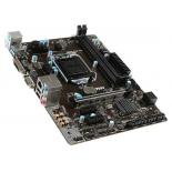 материнская плата MSI B85M PRO-VD Soc-1150 B85 DDRIII mATX SATA3 LAN-Gbt VGA+DVI USB 3.0