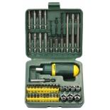 насадки отвёрточные Kraftool 25556-H43 (43 предмета)