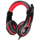 гарнитура для ПК Oklick HS-L200, черно-красная