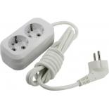 удлинительный кабель Smartbuy SBE-16-2-02-Z 2м, (2 розетки)