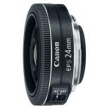 объектив для фото Canon EF-S 24mm 2.8 STM черный
