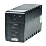 источник бесперебойного питания Powercom RAPTOR RPT-600A 360W черный 3x IEC320