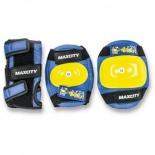 товар для детей MaxCity Little Rabbit (набор роликовой защиты), размер М, синий