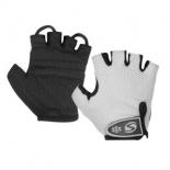 перчатки для фитнеса Stels CG-1061 р. (L),  белын / черные