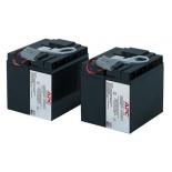 батарея аккумуляторная для ИБП APC RBC55 (12 В, 17 Ач)