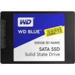 жесткий диск SSD Western Digital WD BLUE 3D NAND SATA 500 GB (WDS500G2B0A)