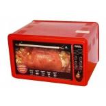 Духовой шкаф AKEL AF-710 красный
