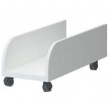 мебель компьютерная Подставка под системный блок Мэрдэс СП-30П БЕ Белый жемчуг