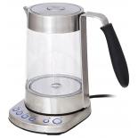 Чайник электрический Kitfort КТ-601, серебристый, купить за 4 100руб.