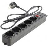 сетевой фильтр 5bites SP5-B-18, черный