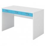 стол компьютерный Мэрдэс СП-32С БЕСИ Белый жемчуг/Синий мрамор