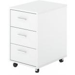 мебель компьютерная Тумба Мэрдэс ТС-1 БЕ, белый жемчуг