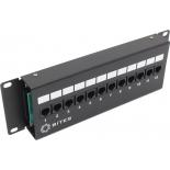 сетевое оборудование 5 Bites Коммутационная панель (12 портовая)