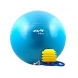 мяч гимнастический Starfit GB-102 85 см с насосом синий