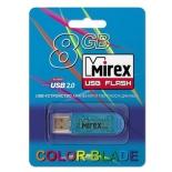 usb-флешка Mirex ELF 8GB, Синяя