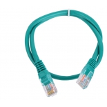 кабель (шнур) Aopen Патч-корд  UTP 5e зеленый