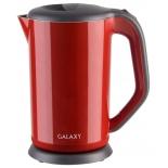 чайник электрический Galaxy GL 0318, красный