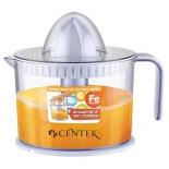 Соковыжималка Centek CT-1231, прозрачная, купить за 1 460руб.