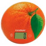 весы кухонные Endever Skyline KS-519, оранжевые