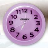 часы интерьерные Будильник Centek СТ-7200, лиловые
