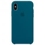 чехол для смартфона Apple для iPhone X Silicone Case - космический синий