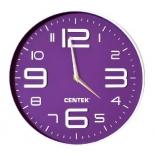 часы интерьерные Centek СТ-7101, фиолетовые