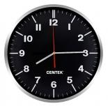 часы интерьерные Centek СТ-7100, черные