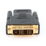 кабель (шнур) Gembird A-HDMI-DVI-2 (DVI-D SL - HDMI, M/F), чёрный