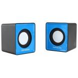 компьютерная акустика Гарнизон GSP-100, синяя с черным
