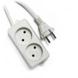удлинительный кабель Гарнизон EL-NL2-W-2, белый