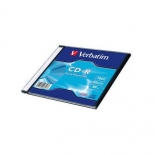 оптический диск Verbatim CD-R 700 Мб, slim case (1 шт)