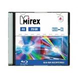 оптический диск Mirex BD-R 25 Gb, Slim Case (1 шт)