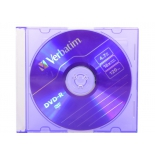 оптический диск Verbatim DVD-R (43547) 4.7 Gb, 16x, Slim Case