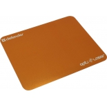 коврик для мышки Defender Opti Laser 50410 (для оптической лазерной мыши), оранжевый