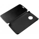 чехол для смартфона Lenovo для Motorolla Moto C Plus Flip Cover, черный