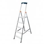 лестница монтажная Krause Safety 126337 (с полочкой)